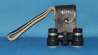Vintage Binoculars G Rodenstock Aldon Made In Germany W/ Leather Case