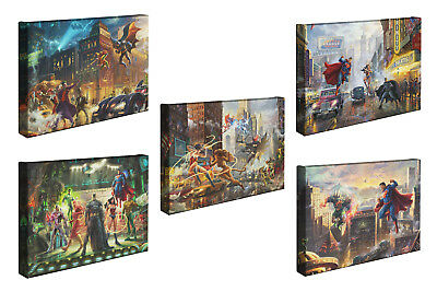 Thomas Kinkade Studios Your Choice of 2 or 5 DC Art 10 x 14 Canvas Wrap