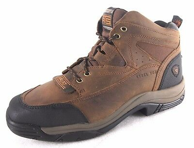 Ariat Mens Terrain Steel Toe Western Safety Boots 10016379