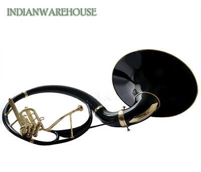 """Sousaphone Painted 100% Brass 22"""" Bb """"Chopra"""" 3 VALVE WITH BAG MOUTH PIECE"""
