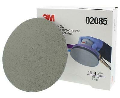 3M 02085 152mm 6'' Trizact Foam Sanding Disc 3000 Grit Hook & Loop Box of 15