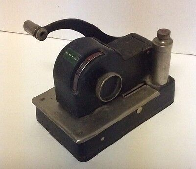 Antique Personal Check Writer Model 1500 Protectograph Todd Co.