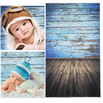5X7ft Retro Vinyl Wood Wall Photography Backdrop Photo Background Studio Props