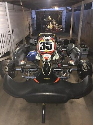 go kart crg with KA100
