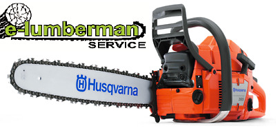 """New Chainsaw HUSQVARNA 365 and  Guide Bar 18"""" 45cm and Chain 3/8"""" 1.5mm 68 DL"""