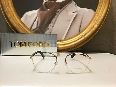 Tom Ford Eyewear Eyeglasses Occhiale vista TF5451 028 Gold Winter Collection