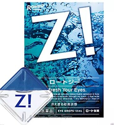 Rohto Z Eye Drops Super Cooling 12ml New Made in Japan Fast & Free Delivery