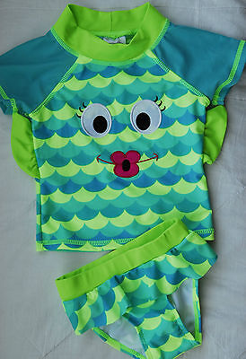Candlesticks 2 Piece Swimsuit ~ Fishalicious ~ Age 18 Months