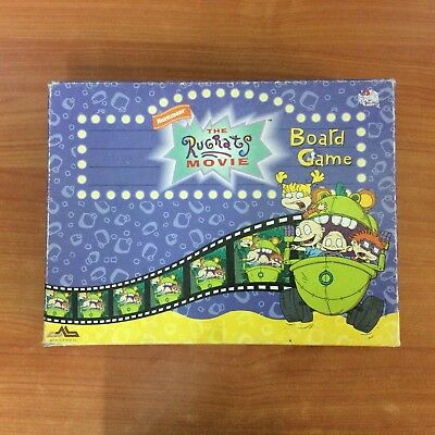 1999 Board Game - The Rugrats Movie Board Game - 100% Complete