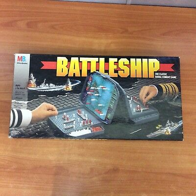 1996 Board Game - Battleship - A Classic Naval Combat Game
