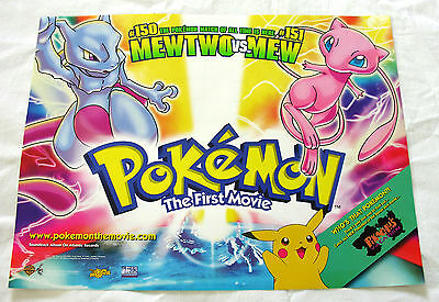 Pokemon- The First Movie   UK  Mini Quad Poster