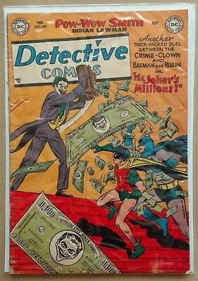 DC Golden Age DETECTIVE COMICS #180 (1952) THE JOKER'S MILLIONS! FN Batman
