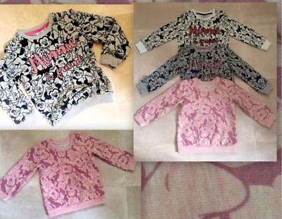 Girls XStore minnie mouse disney  top jumper sweater age 9-12 months to 11 years