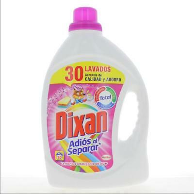 DIXAN Set 4 Liquid Detergent 30 Measuring cups Gel Color