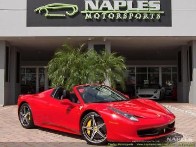 2015 Ferrari 458 Spider 2015 Ferrari 458 Spider - Sport Wheels - Deviated Red Stitching -Yellow Calipers