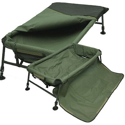 Fishing Carp Cradle Framed Unhooking Mat With Built In Knee Pad Adjustable Legs