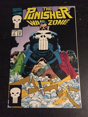 The Punisher:War Zone#3 Incredible Condition 9.4(1992) Romita.jr Art!!