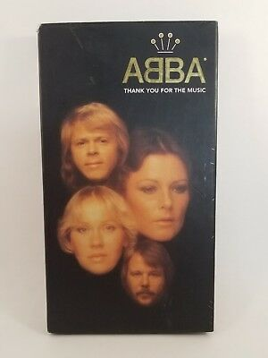 ABBA Thank You For The Music 4 CD Set with Booklet A4