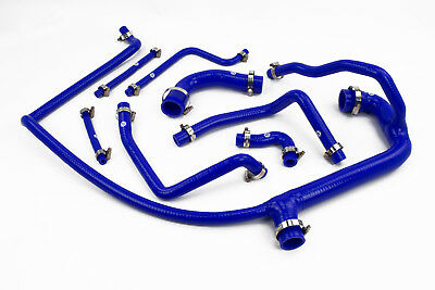 Silicone Coolant Hoses fit Land Rover Defender 300TDI Stoney Radiator Blue