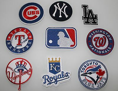 Patch Toppa Baseball Team Mlb Usa Embroired Iron On Patch Ricamo Termoadesiva