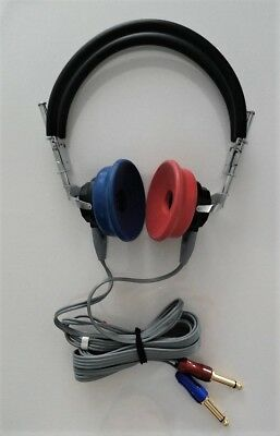 Headphones  For Audiometer With Tdh Dd 45 Interacoustics And Cables