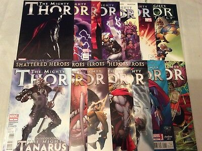 The Mighty Thor #1-13 (June 2011, Marvel)