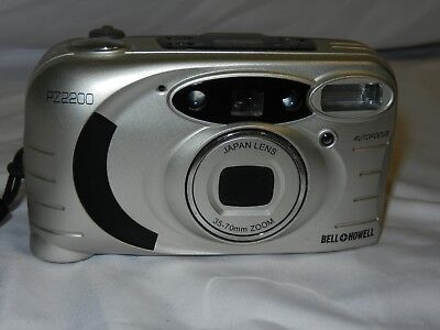 Bell + Howell PZ2200 35mm Point & Shoot Camera