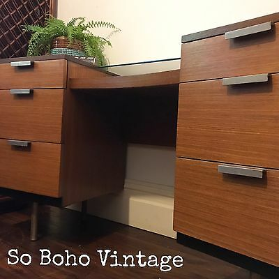 Stunning Mid Century Vintage 1960s Desk John And Sylvia Reid  Stag Furniture