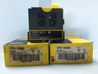 New Lot Bussmann Optima OPM-1038R Overcurrent Protection Fuse Holder Module 30A