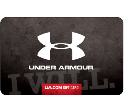Get a $50 Under Armour Gift Card for only $45 - Via Email delivery