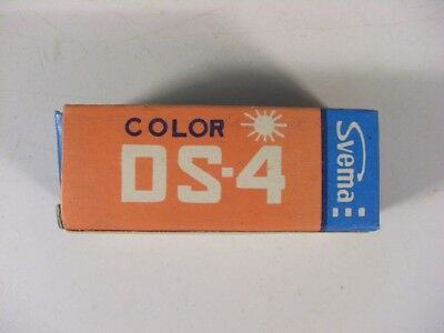 Vintage color negative, FOTO DS-4, 120 print 1 roll, SVEMA, USSR.