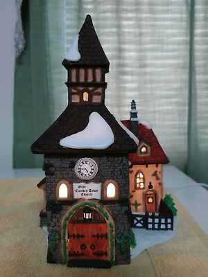 Dept 56 Dickens Village Series The Olde Camden Town Church with Orginal box