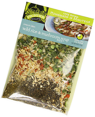 Frontier Soups Homemade In Minutes Soup Mix, Oregon Lakes Wild Rice and Mushroom