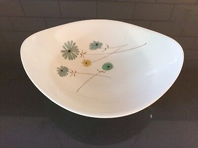 Iroquois Informal China LAZY DAISY by Ben Seibel Oval Vegetable Bowl mid century