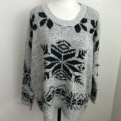 Urban Day Sweater Women's Size M/L Oversize Slouchy #2370