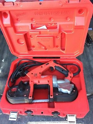 Milwaukee 6242-6 120V AC Compact Band Saw w/ Carrying Case