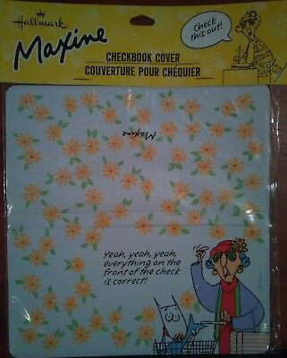 "Hallmark ""Maxine"" Checkbook Cover RARE! NOVELTY ITEM!"