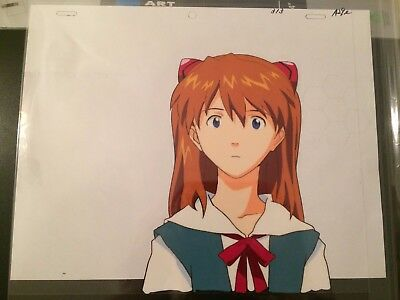 Evangelion Production Cel Asuka