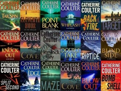 FBI Suspense Thrillers Series By Catherine Coulter - 17 Audiobooks MP3-DVD