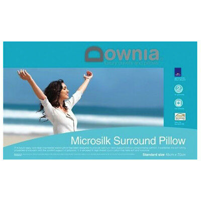 Downia Microsilk Fully Washable Surround Pillow 45x70cm RRP 59.95 FREE SHIPPING