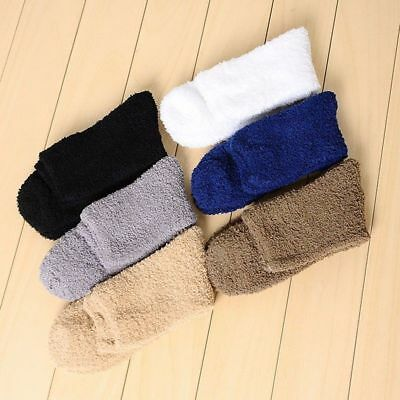 US Stock Womens Soft Cozy Cashmere Socks Winter Warm Sleep Bed Floor Home Fluffy