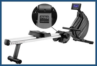 Pure Design PR-8 PRESECIA  Magnetic Air Indoor Rowing Rower latest 2017/18 model