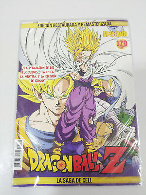 Dragon Ball Z La Saga De Cell 2 X Dvd Sobre Carton - Capitulos 170-171 Nuevo