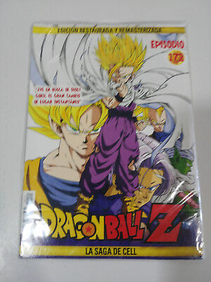 Dragon Ball Z La Saga De Cell 2 X Dvd Sobre Carton - Capitulos 172-173 Nuevo