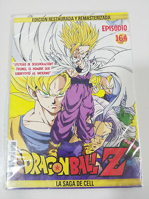Dragon Ball Z La Saga De Cell 2 X Dvd Sobre Carton - Capitulos 164-165 Nuevo