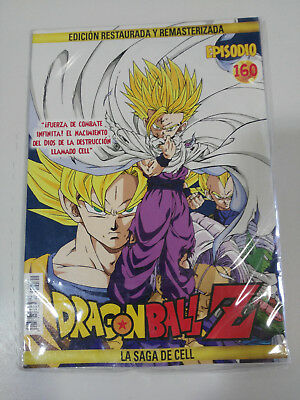 Dragon Ball Z La Saga De Cell 2 X Dvd Sobre Carton - Capitulos 160-161 Nuevo