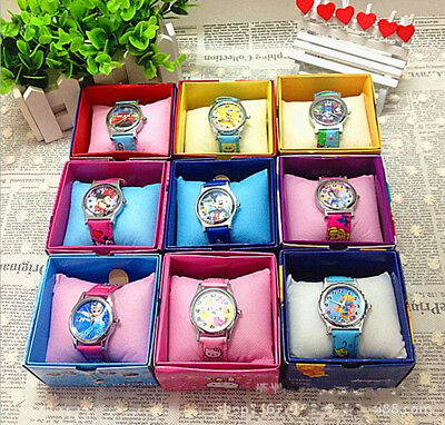 Fashion Cute Disney Cartoon Child Kid's Analog Quartz Wrist Watch Children Gift