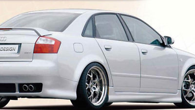 Side skirts for AUDI A4 B6 8E  2001-2004 ABS Plastic