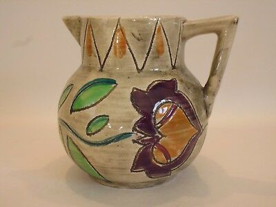 Shorter & Son  'medina'  Art Deco Jug By Mabel Leigh - Circa 1935