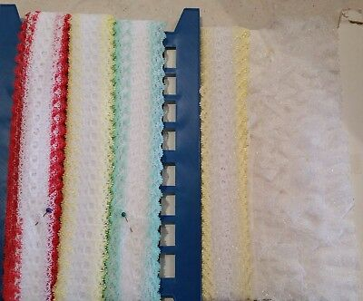 Mixed Bag of Lace Crafts Sewing Knitting